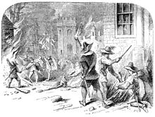 Burning of Jamestown Bacon's Rebellion