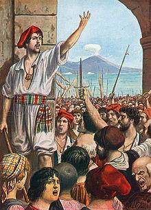 Masaniello revolt in Naples (Hydra)