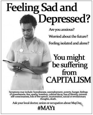 you may be suffering from capitalism
