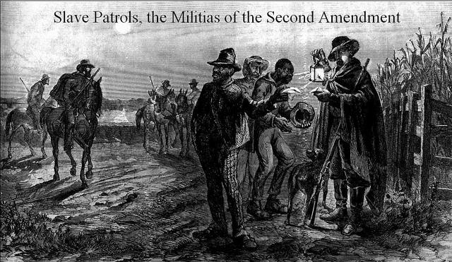 THE  SECOND  AMENDMENT  WAS         DESIGNED TO PRESERVESLAVERY