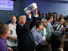 trump in PR