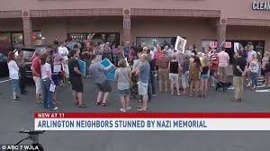 blog residents protest neonazis in arlington 2017 number 2