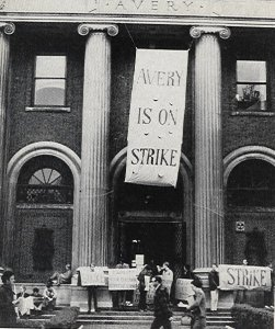 sds columbia u strike