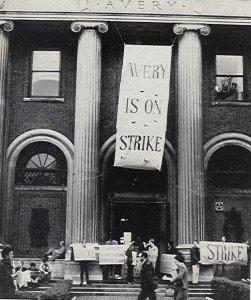 sds columbia u strike